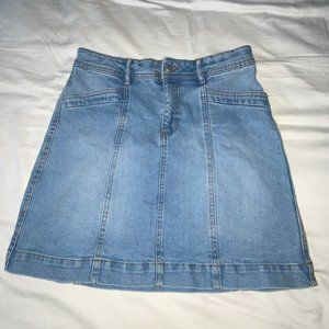 Denim Jean Skirt from Joe Fresh size 2